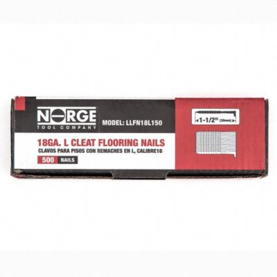 1-1/2&#034; 18ga. Floor Cleats 500-Count